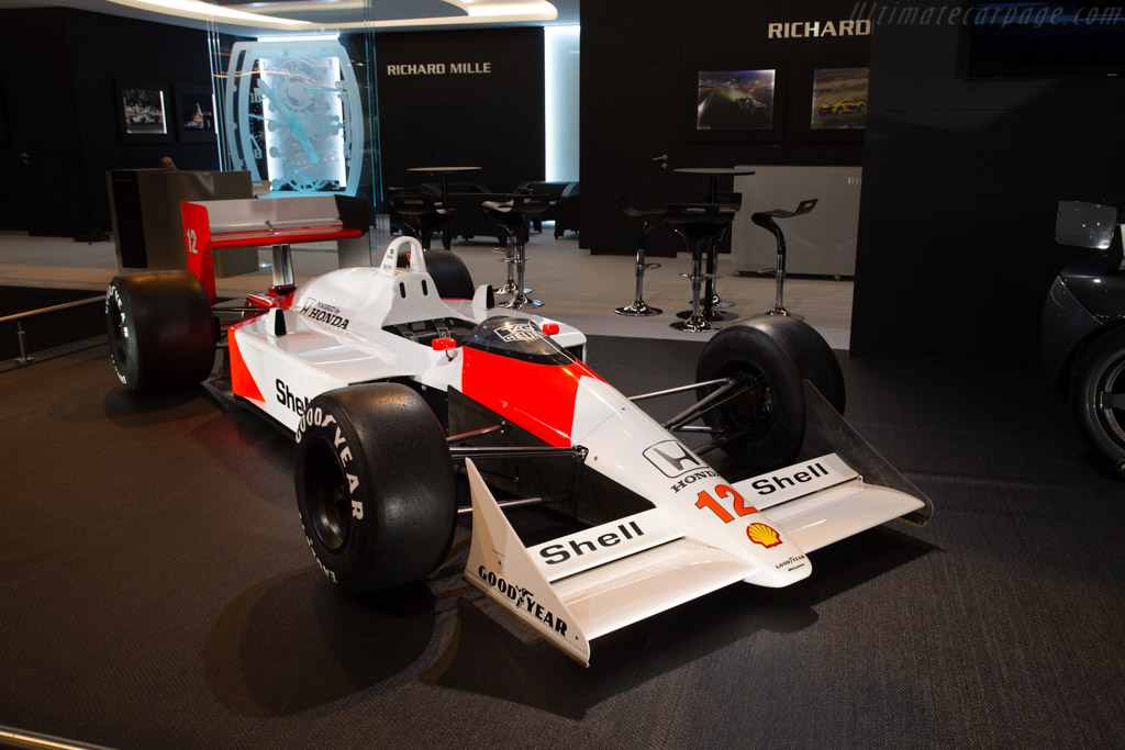 McLaren MP4/4 Honda    - 2018 Retromobile