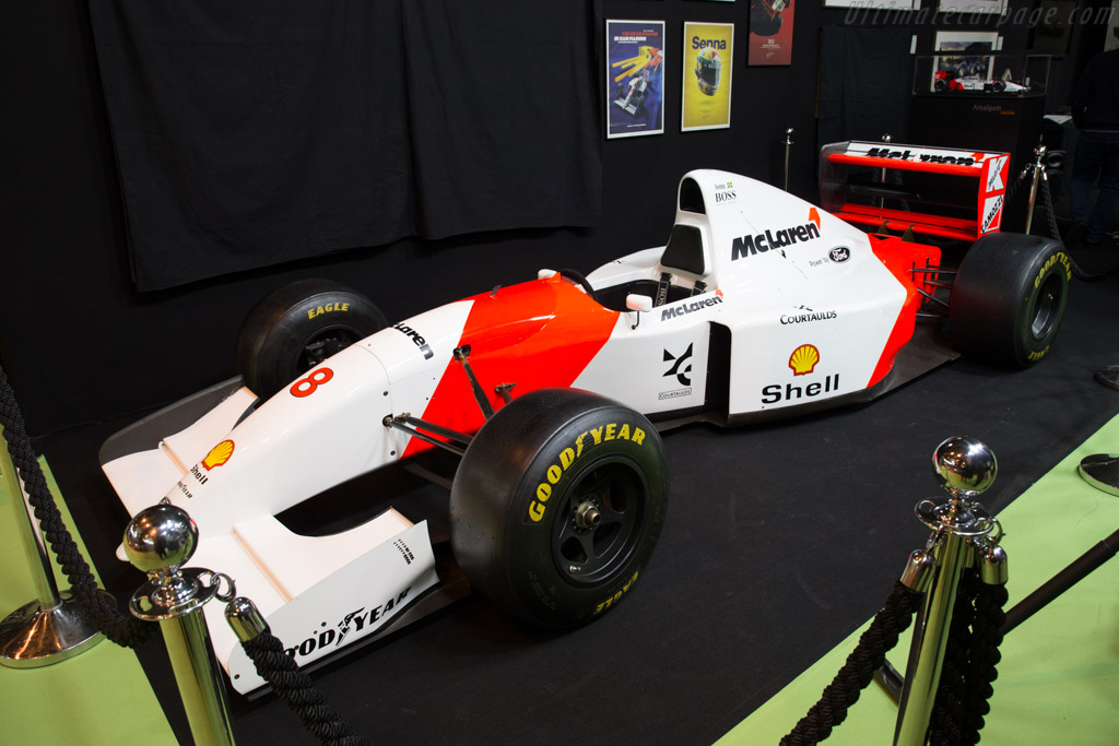 McLaren MP4/8A Ford - Chassis: MP4-8A-4   - 2018 Retromobile
