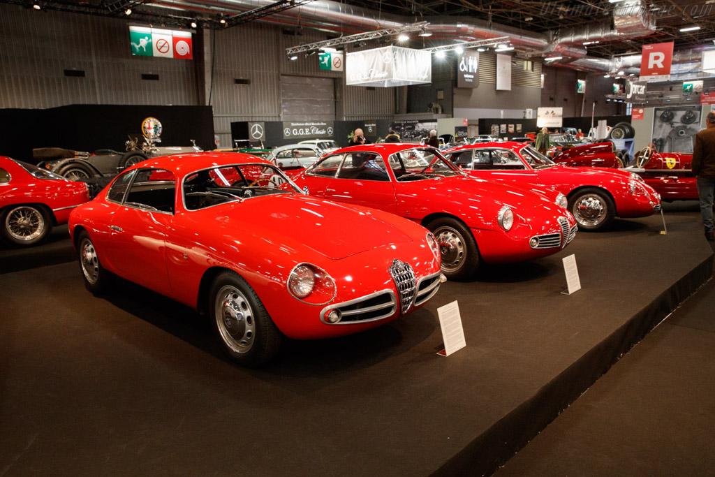 Alfa Romeo Giulietta SVZ - Chassis: AR1493.F04657 - Entrant: Lukas Hüni - 2020 Retromobile