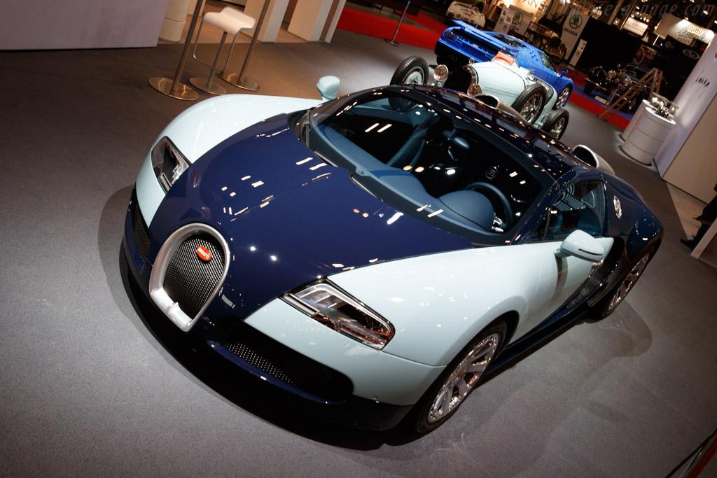 Bugatti Veyron 16.4 Grand Sport - Chassis: VF9SK252X4M495450 - Entrant: Bugatti Automobiles - 2020 Retromobile