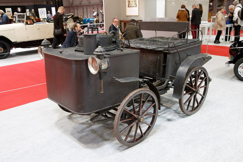 Dos-a-Dos Vapeur   - 2020 Retromobile