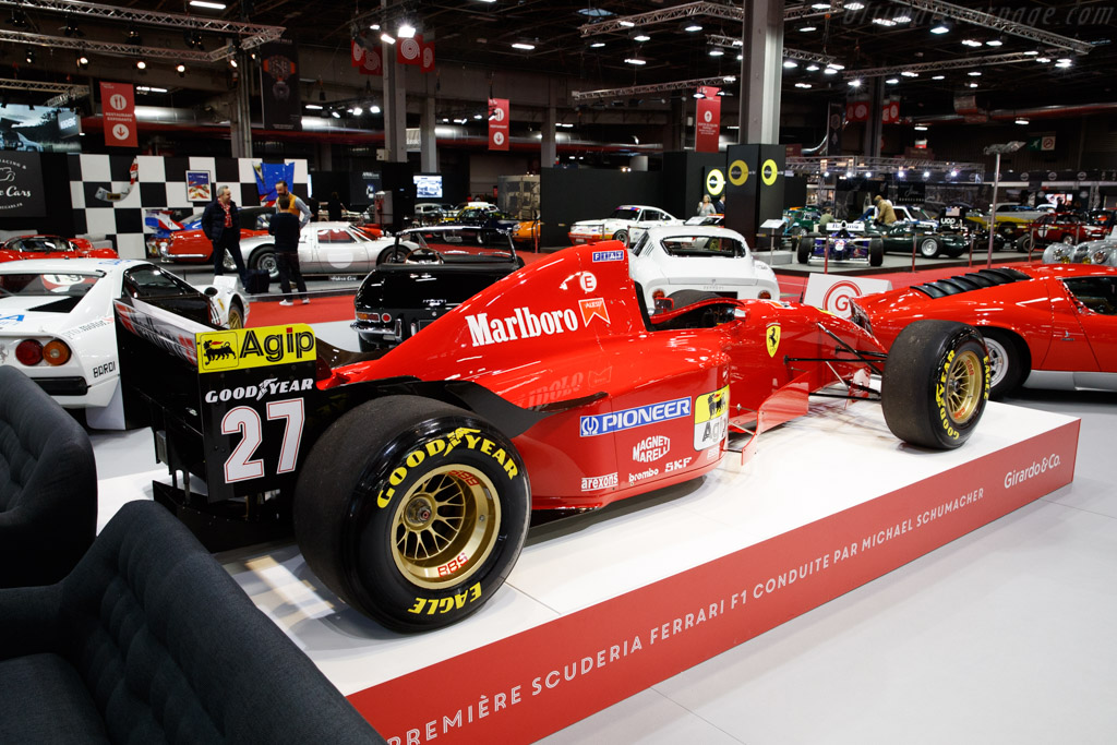 Ferrari 412 T2 - Chassis: 157 - Entrant: Girardo & Co. - 2020 Retromobile