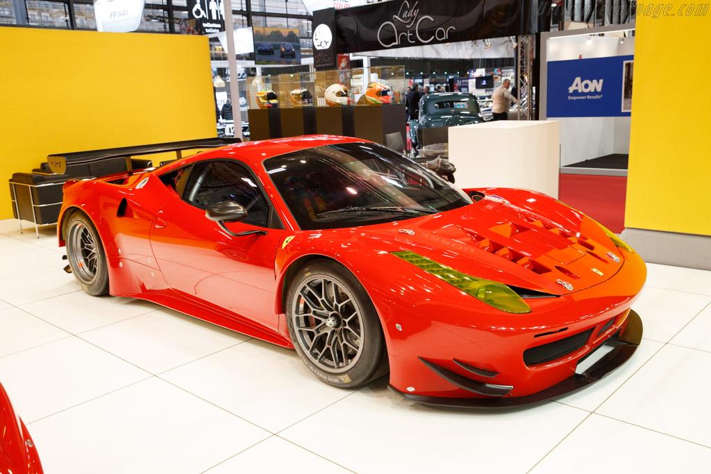 Ferrari 458 Italia GTE  - Entrant: Corse e Strada - 2020 Retromobile
