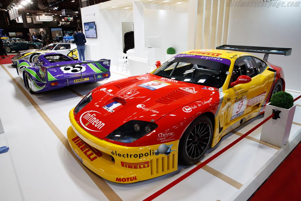 Ferrari 550 Competizione - Chassis: 115811 - Entrant: Historic Cars - 2020 Retromobile