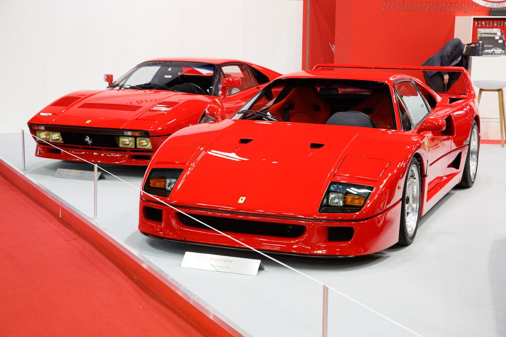 Ferrari F40 - Chassis: 88584 - Entrant: Girardo & Co. - 2020 Retromobile