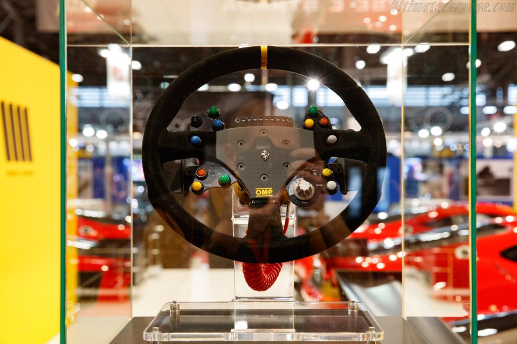 Ferrari Steering Wheel  - Entrant: Corse e Strada - 2020 Retromobile