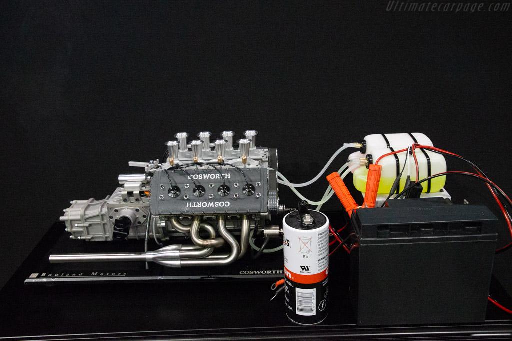 Miniature Cosworth DFV  - Entrant: Equipe Europe - 2020 Retromobile