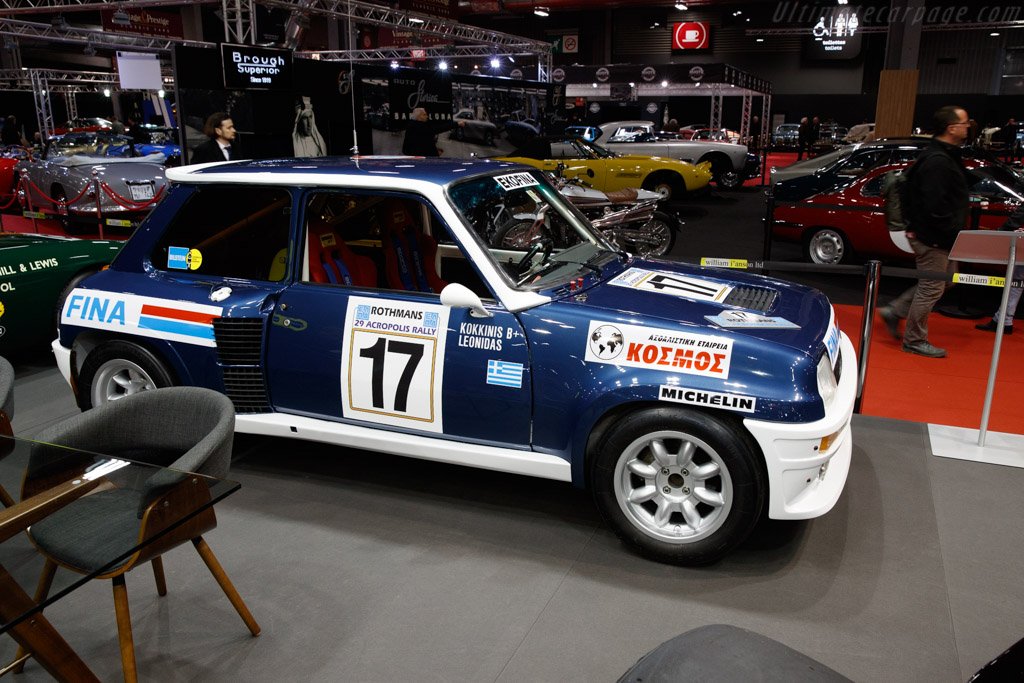 Renault 5 Turbo Group 4 - Chassis: VF1822004D0000020 - Entrant: Will I'Anson - 2020 Retromobile