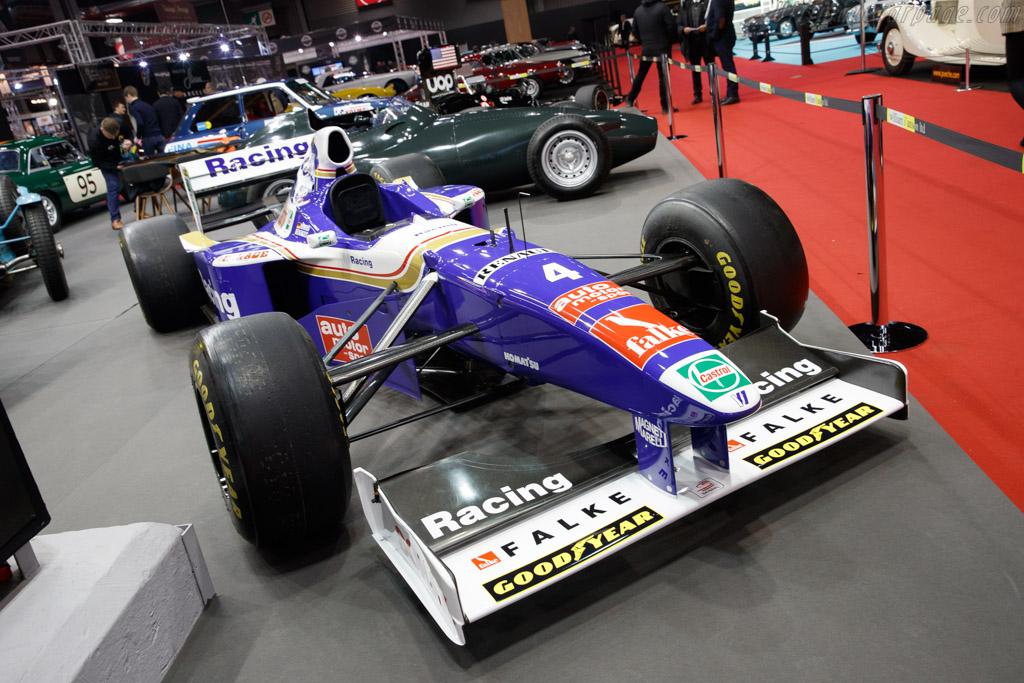 Williams FW19 Renault  - Entrant: Will I'Anson - 2020 Retromobile