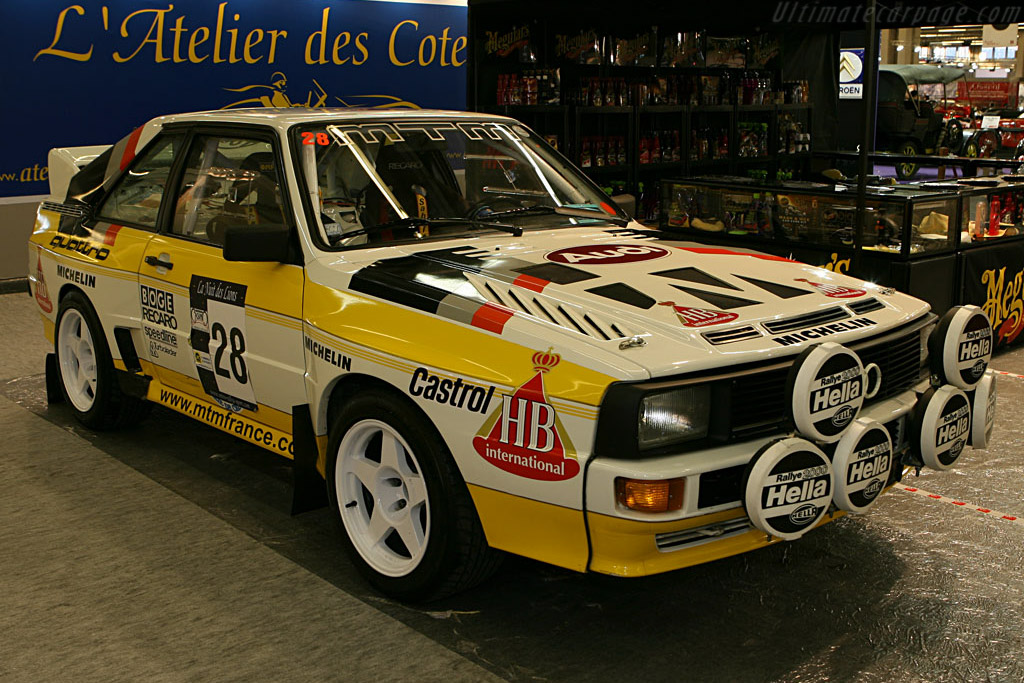 Audi Quattro    - 2007 Retromobile