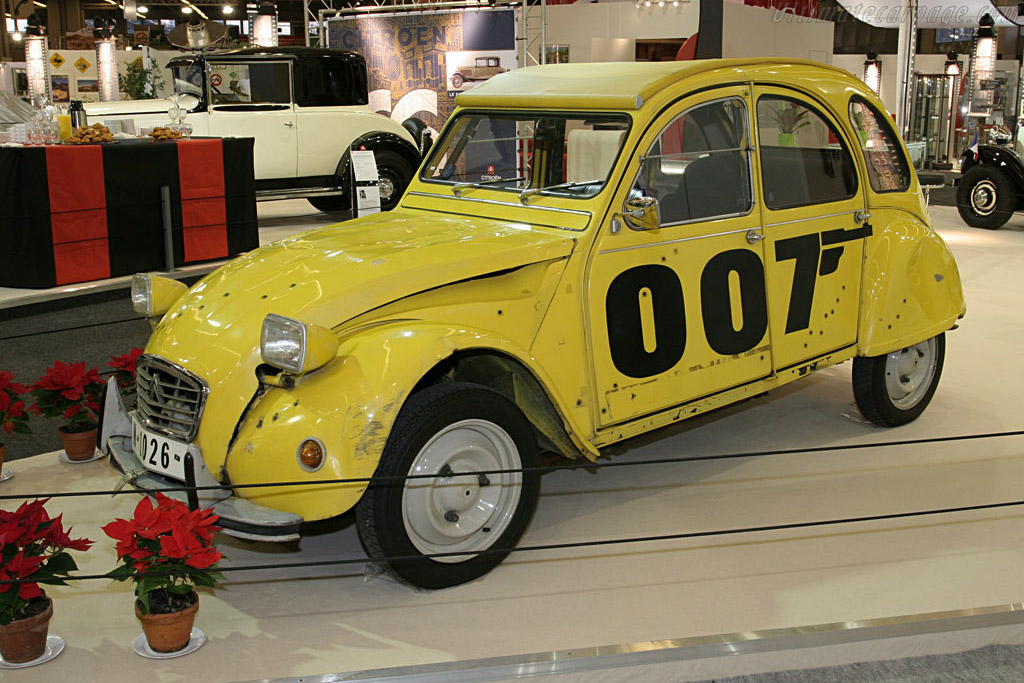 Citroën 2CV '007'    - 2007 Retromobile