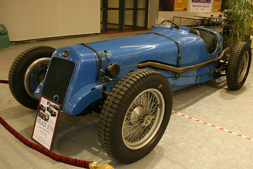Delage 15 S8 - Chassis: WMG-101   - 2007 Retromobile