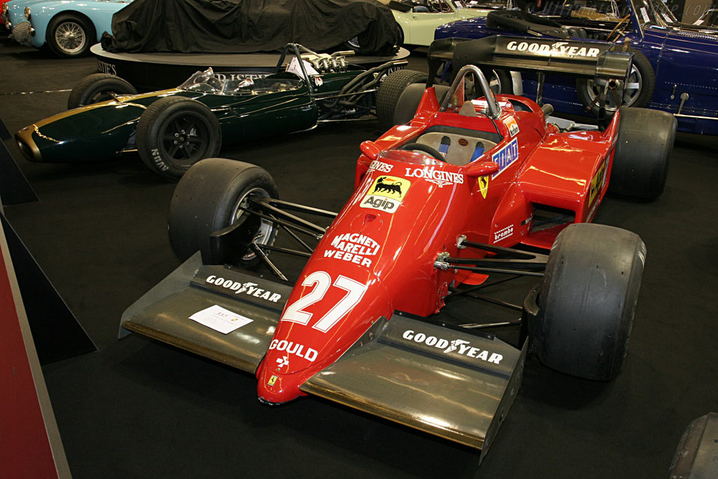 Ferrari 126 C4 - Chassis: 074   - 2007 Retromobile