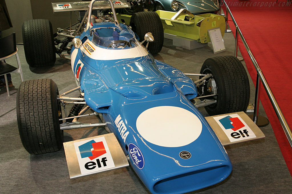 Matra MS80 - Chassis: MS80/03   - 2007 Retromobile