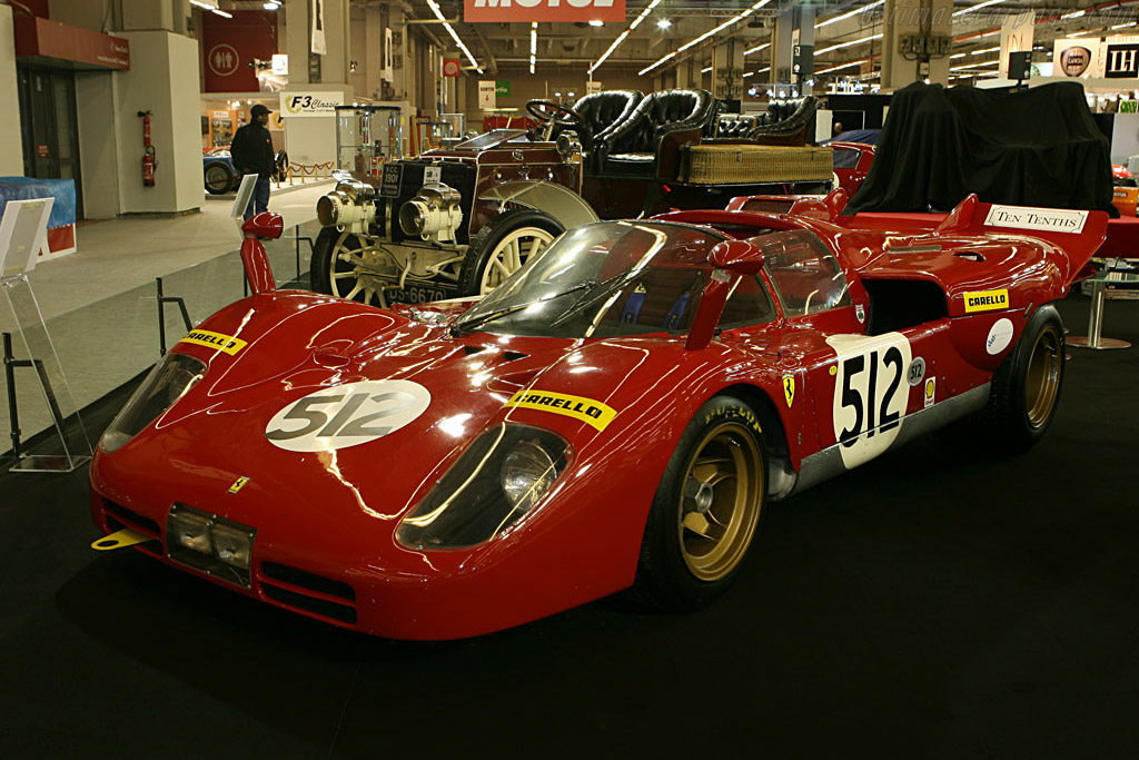 Nick Mason: Ferrari 512 S - Chassis: 1026   - 2007 Retromobile