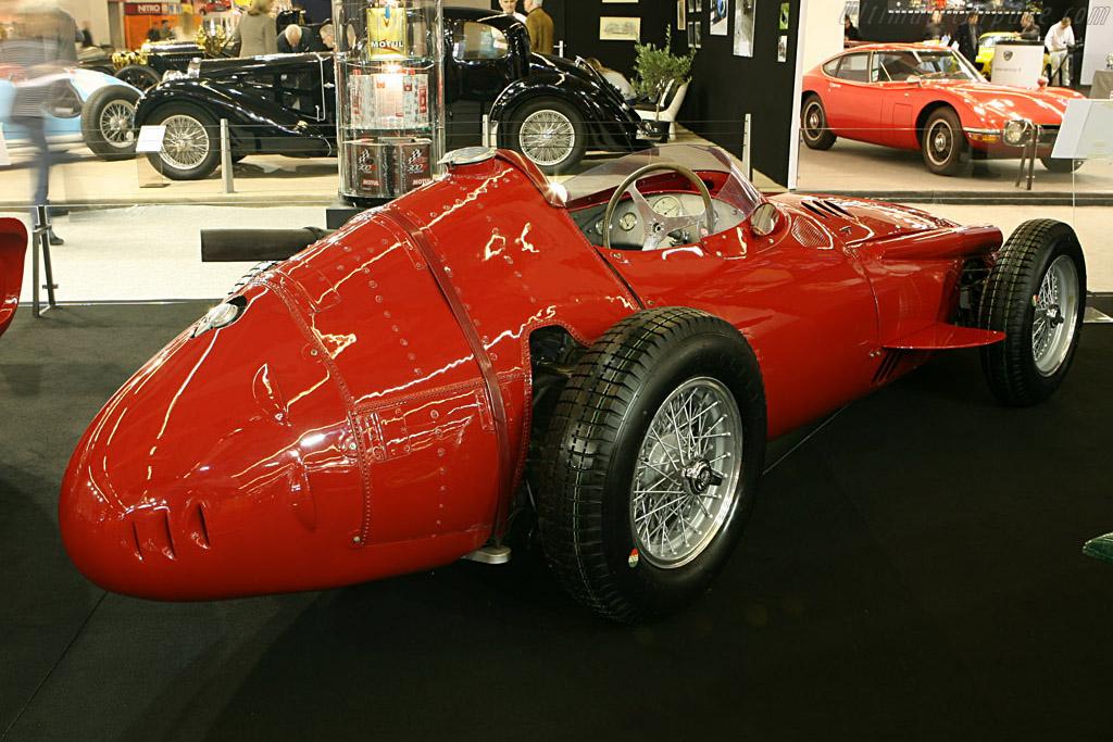 Nick Mason: Maserati 250 F    - 2007 Retromobile