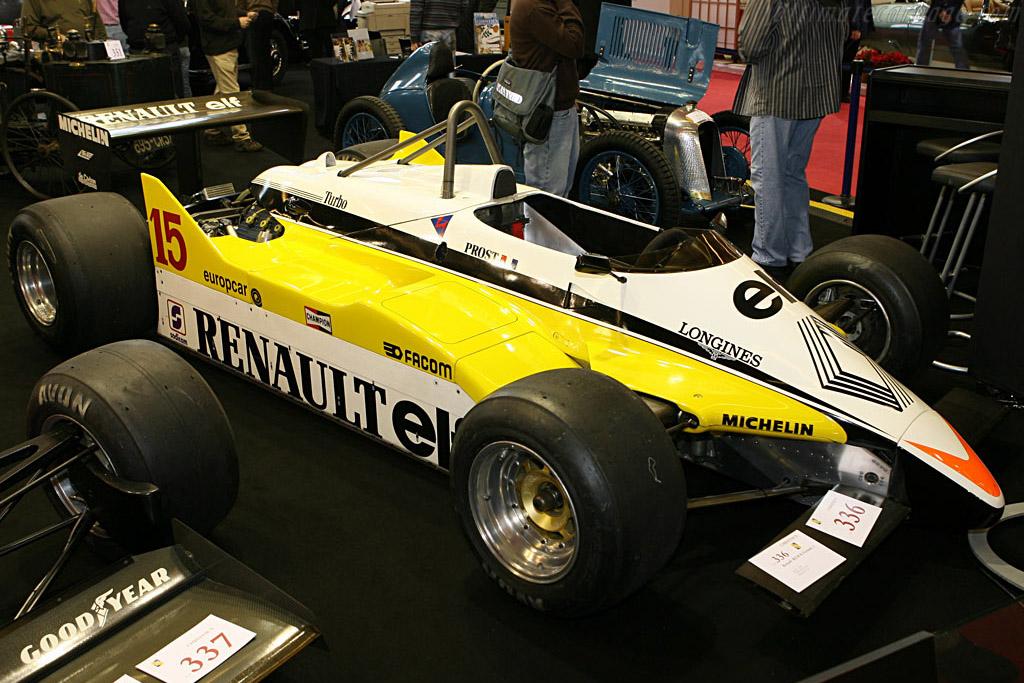 Renault RE30B    - 2007 Retromobile