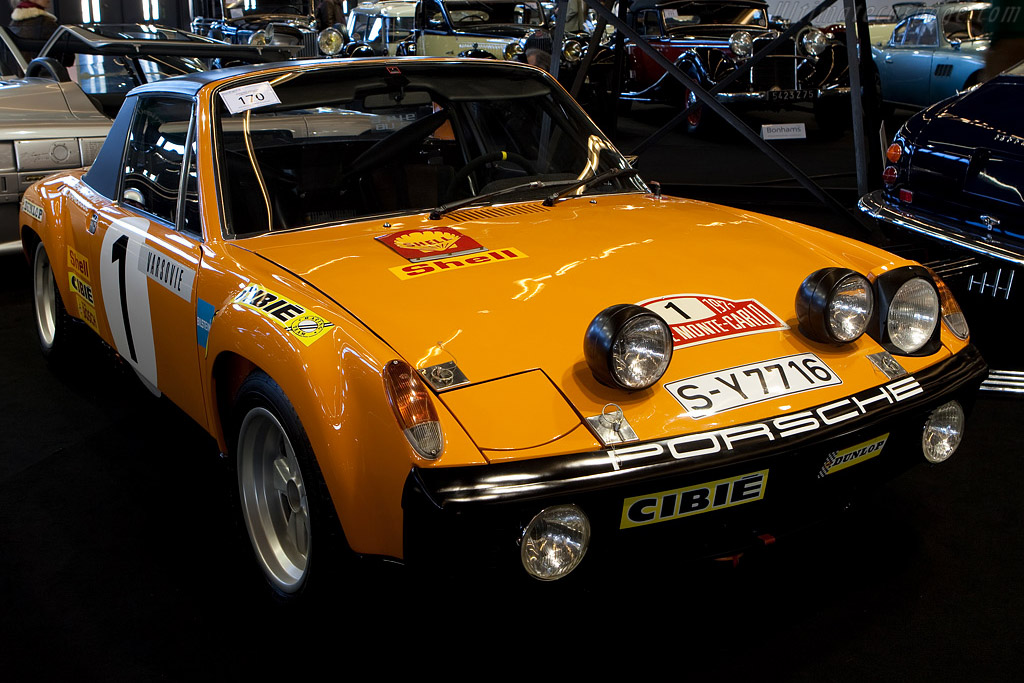 Bonhams: Porsche 914/6 GT - Ultimatecarpage.com - Images, Specifications and