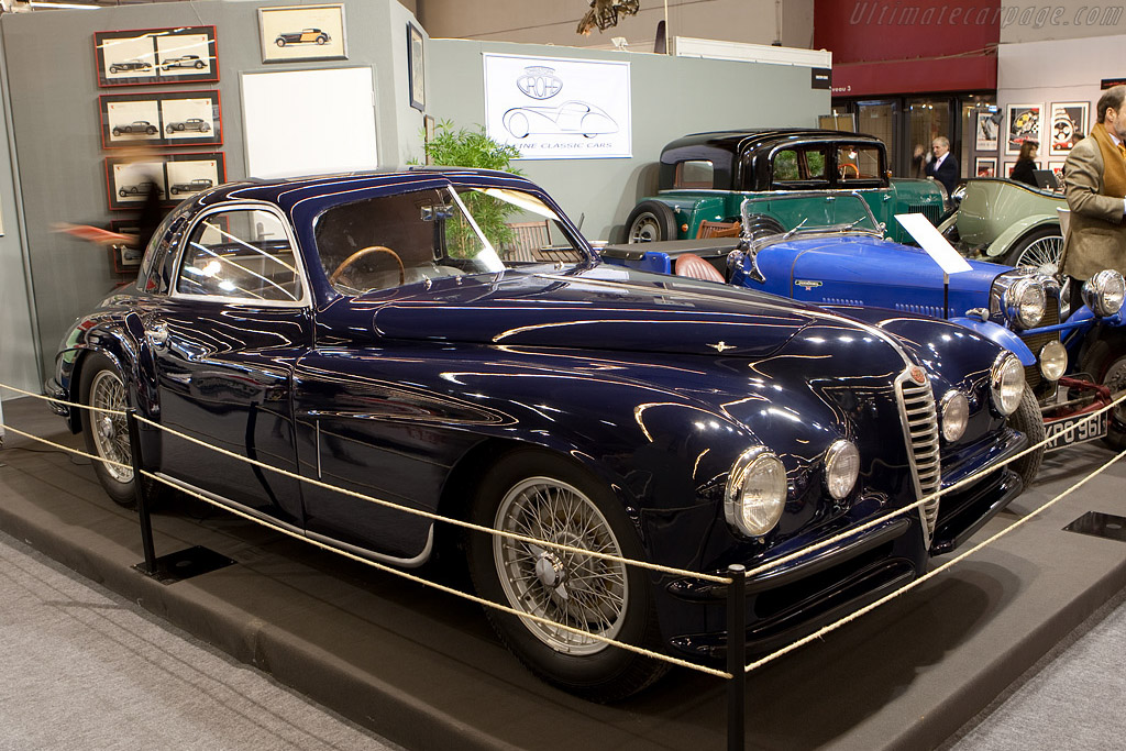 Alfa Romeo 6C 2500 SS Touring Coupe    - 2009 Retromobile
