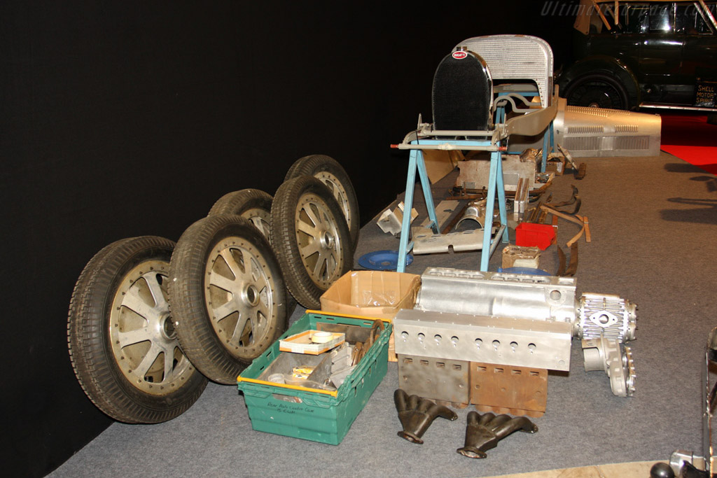 Bugatti Type 35B Project    - 2009 Retromobile