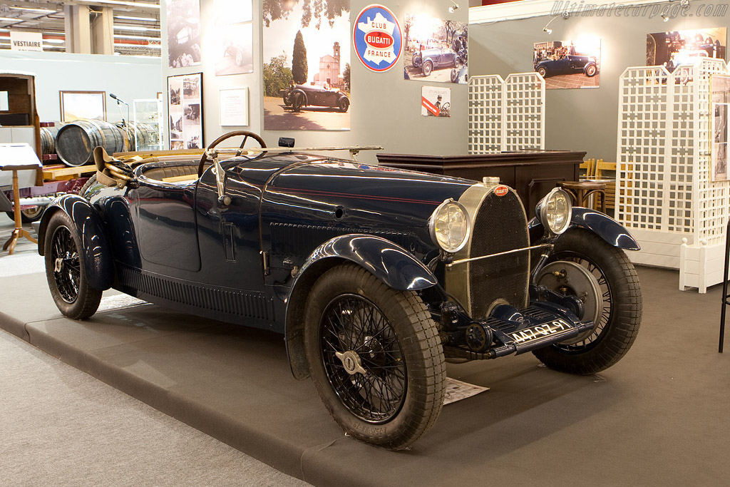 Bugatti Type 38    - 2009 Retromobile