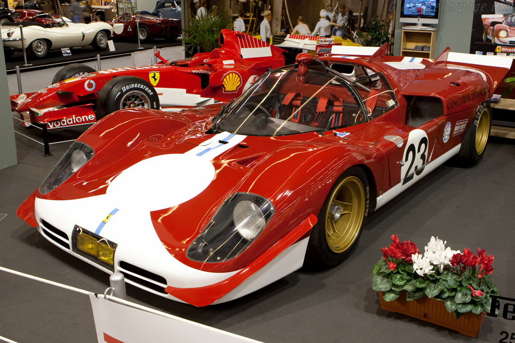 Ferrari 512 S - Chassis: 1016   - 2009 Retromobile