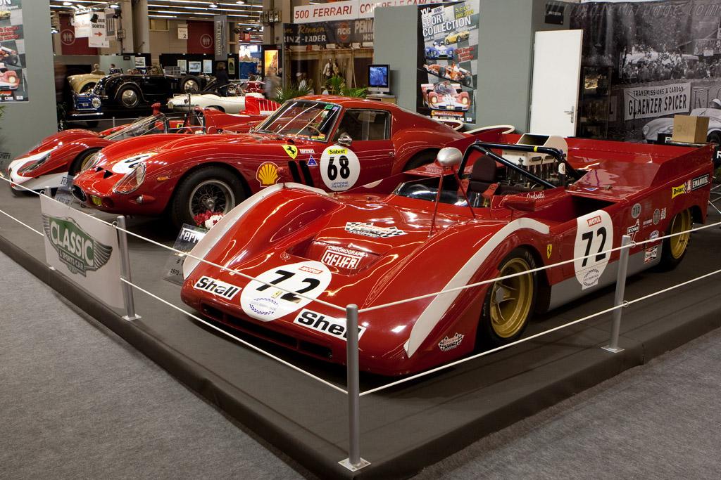 Ferrari 712 CanAm - Chassis: 1010 - Driver: Paul Knapfield  - 2009 Retromobile