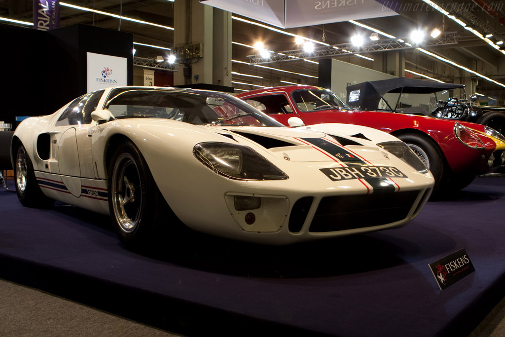 Ford GT40 - Chassis: GT40P/1003   - 2009 Retromobile
