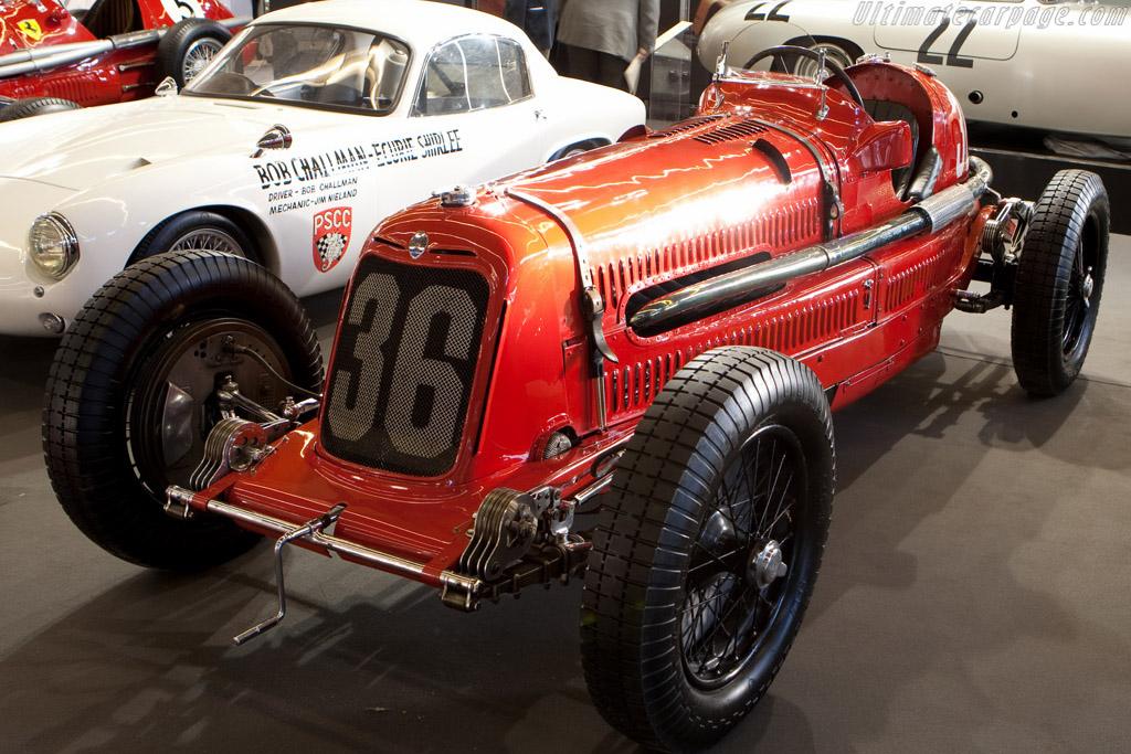 Maserati 8CM - Chassis: 3018   - 2009 Retromobile