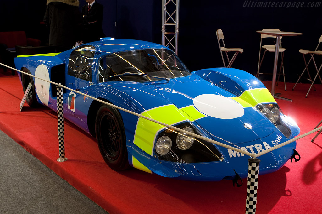 Matra MS630    - 2009 Retromobile