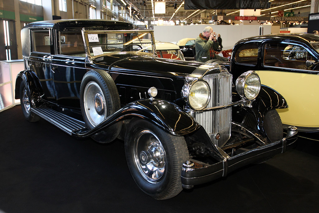 Packard Eight Type 904 Franay Coupe Chauffeur - Chassis: 193347   - 2009 Retromobile