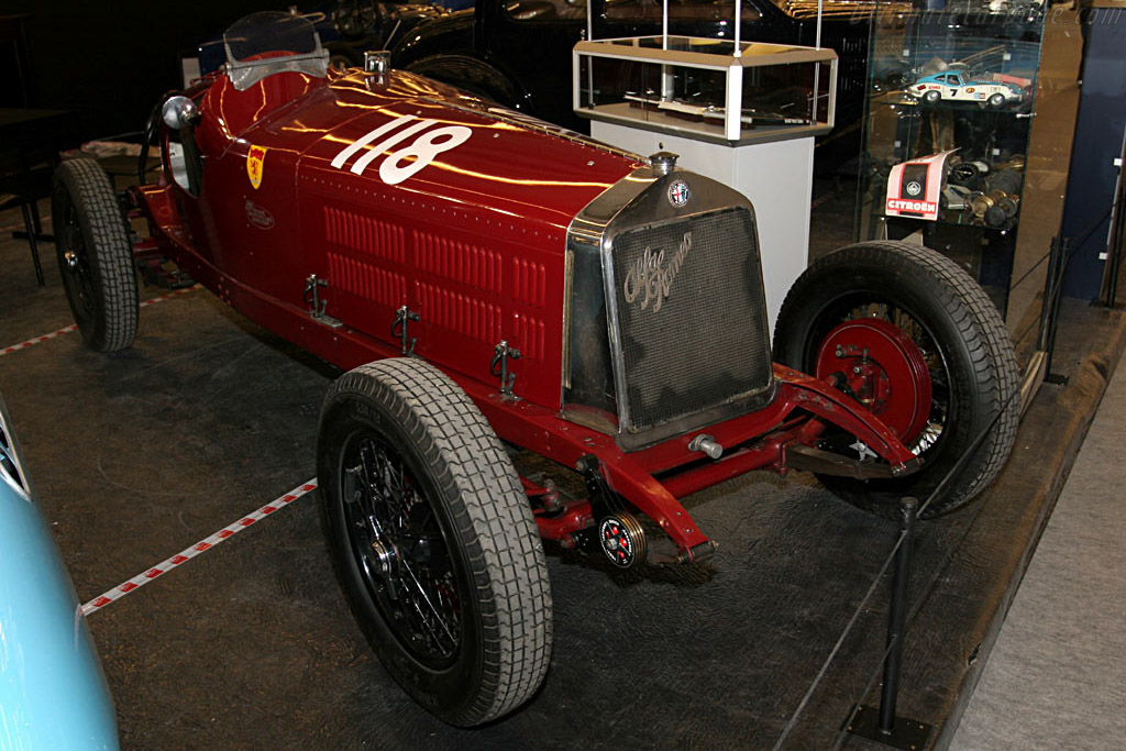 Alfa Romeo 6C 1750 Grand Sport    - 2006 Retromobile