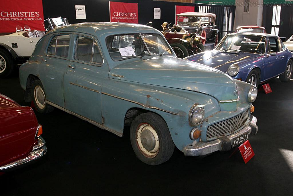 FSO Warszawa M20 - Chassis: 35649   - 2006 Retromobile