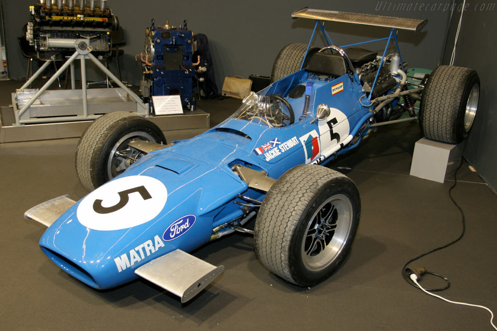 Matra MS10 - Chassis: MS10/02   - 2006 Retromobile