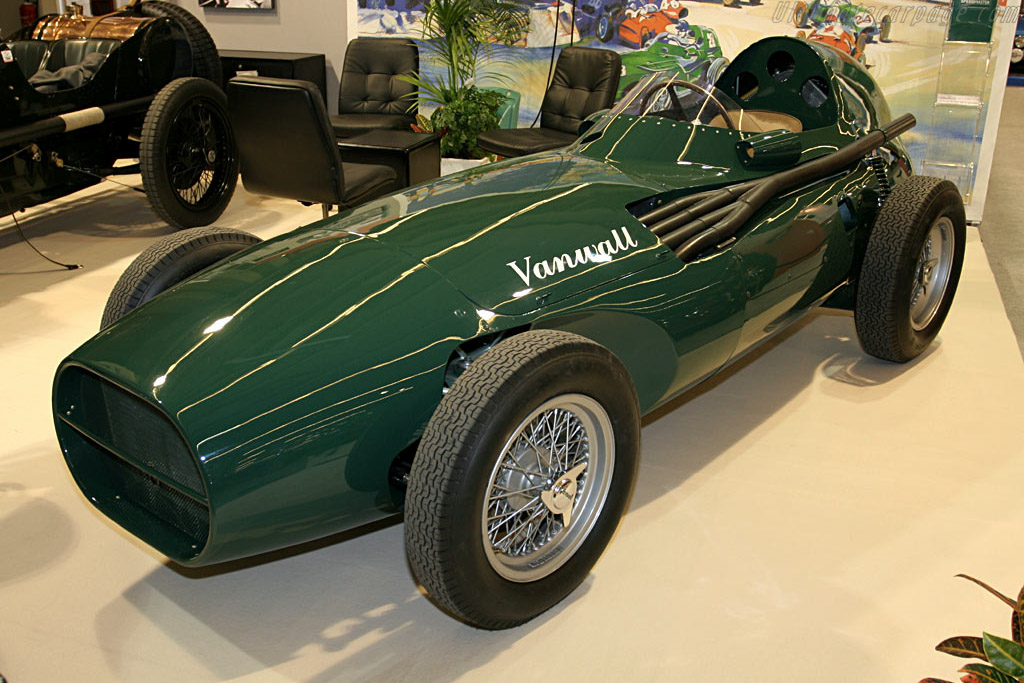 Vanwall VW7 - Chassis: VW7   - 2006 Retromobile