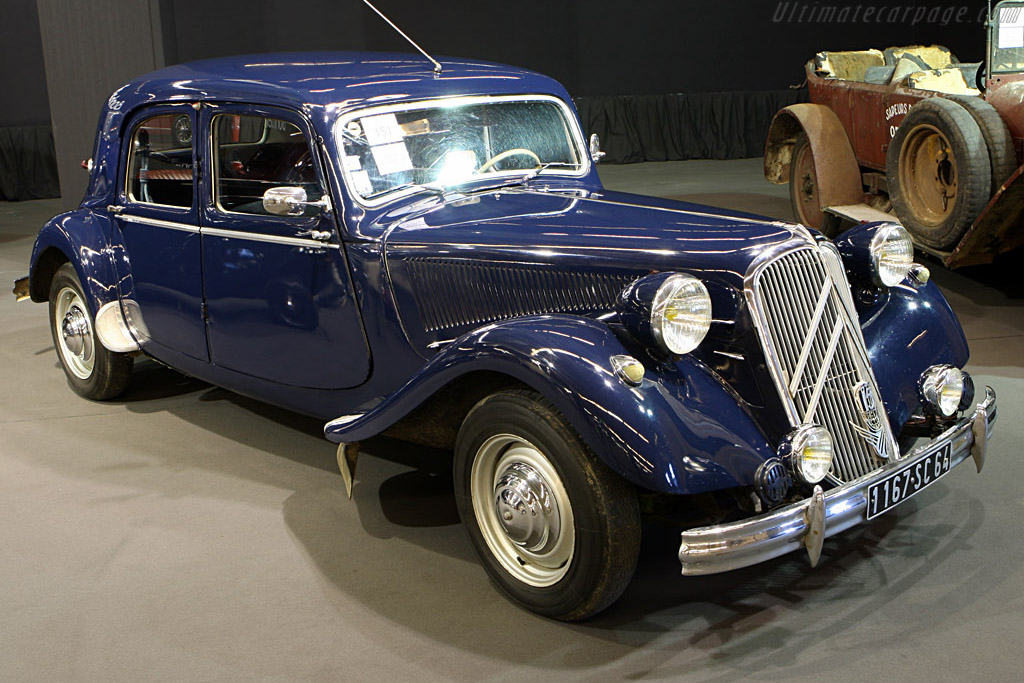 Citroën 15 CV 6H Traction Saloon - Chassis: OHA12026   - 2008 Retromobile