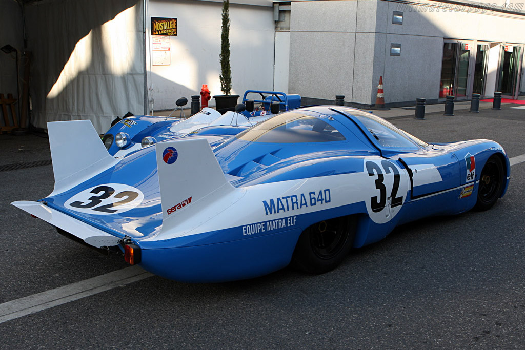 Matra MS640    - 2008 Retromobile
