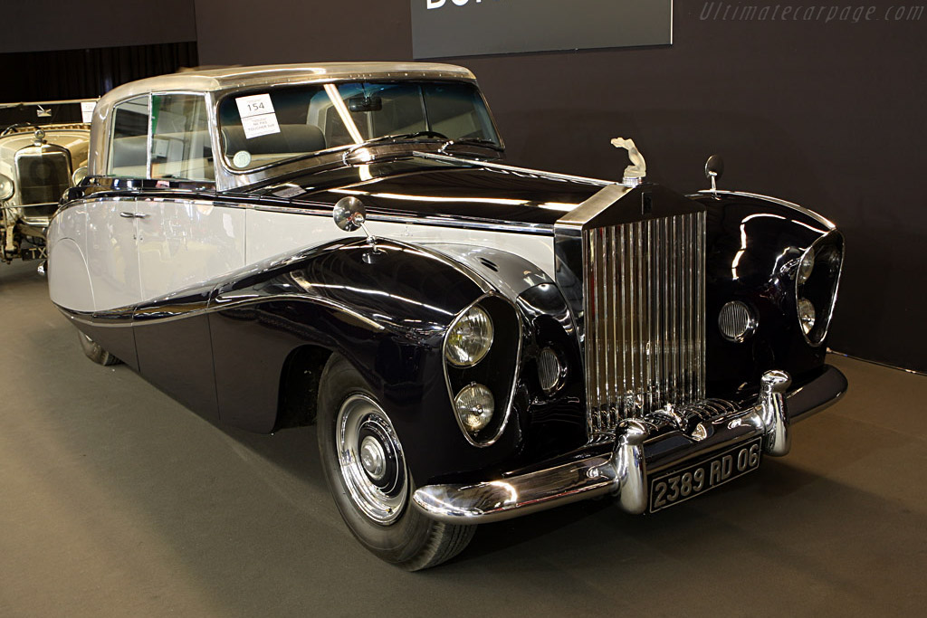Rolls Royce Silver Wraith Chassis Lelw74 2008 Retromobile