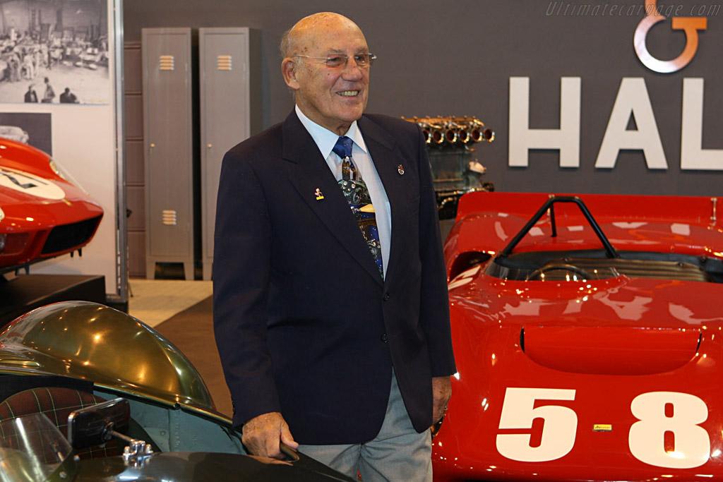 Sir Stirling Moss    - 2008 Retromobile