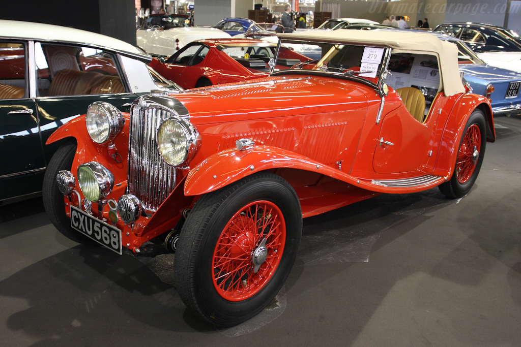AC Ace 16/80 hp Two Seater Sports    - 2010 Retromobile
