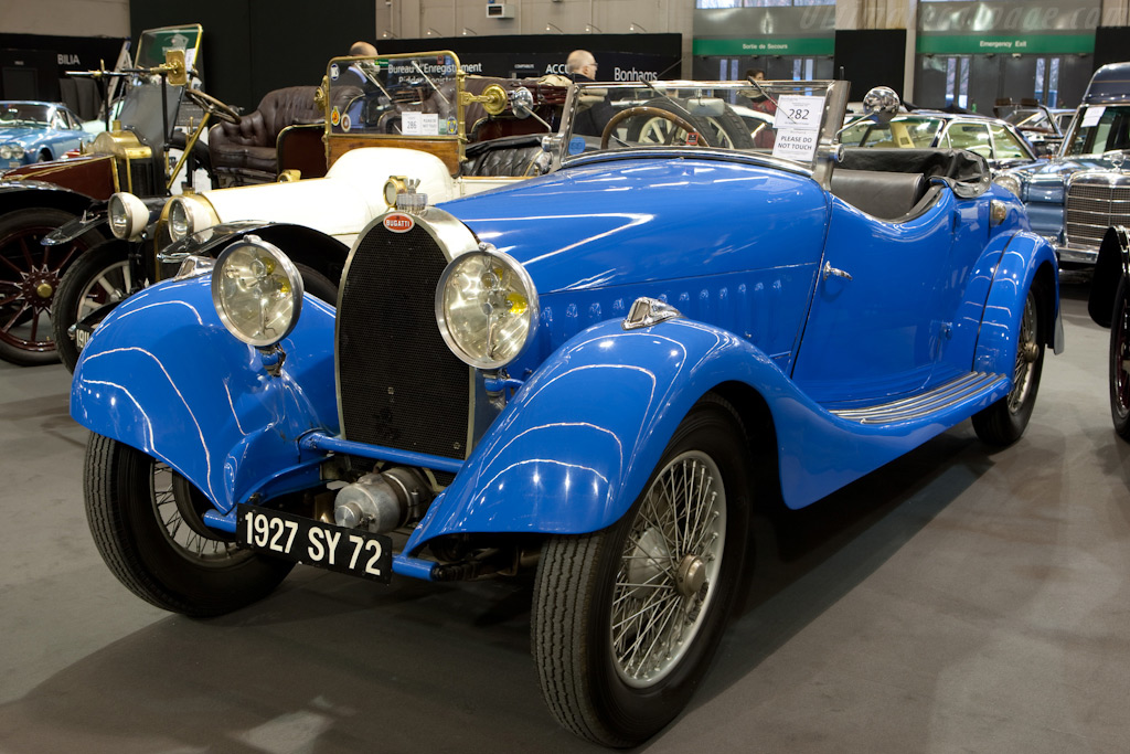 Bugatti Type 44 Roadster    - 2010 Retromobile