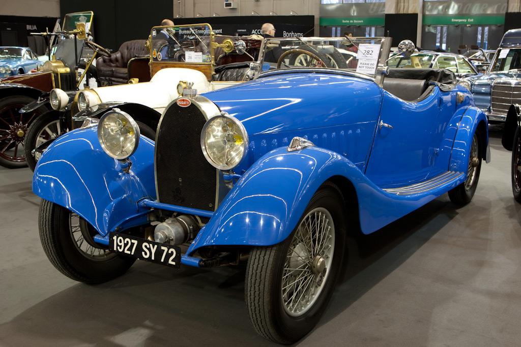 Bugatti Type 44 Roadster    - 2010 Retromobile