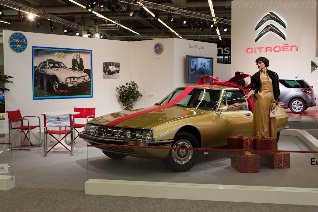 Citroën SM    - 2010 Retromobile