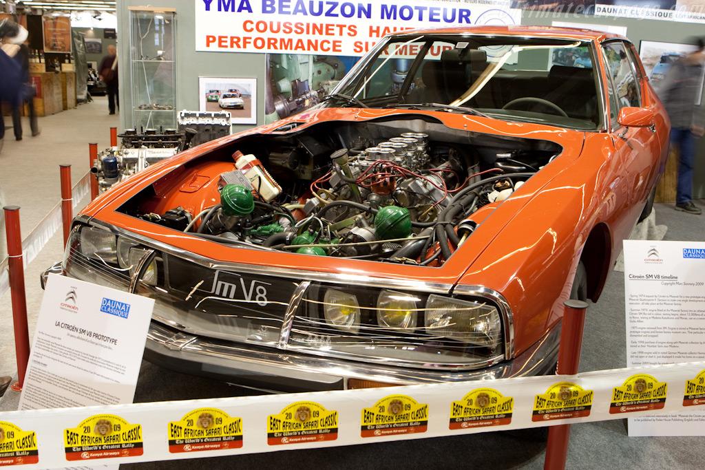 Citroën SM V8    - 2010 Retromobile