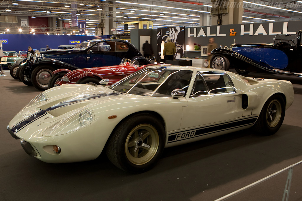 Ford Gt40 Mk3 Chassis M3 1103 2010 Retromobile