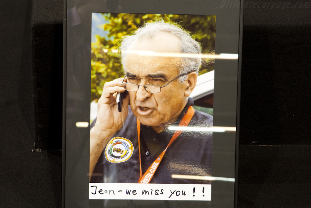 Jean Sage's passing was also noted    - 2010 Retromobile