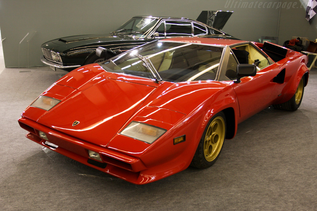Lamborghini Countach    - 2010 Retromobile