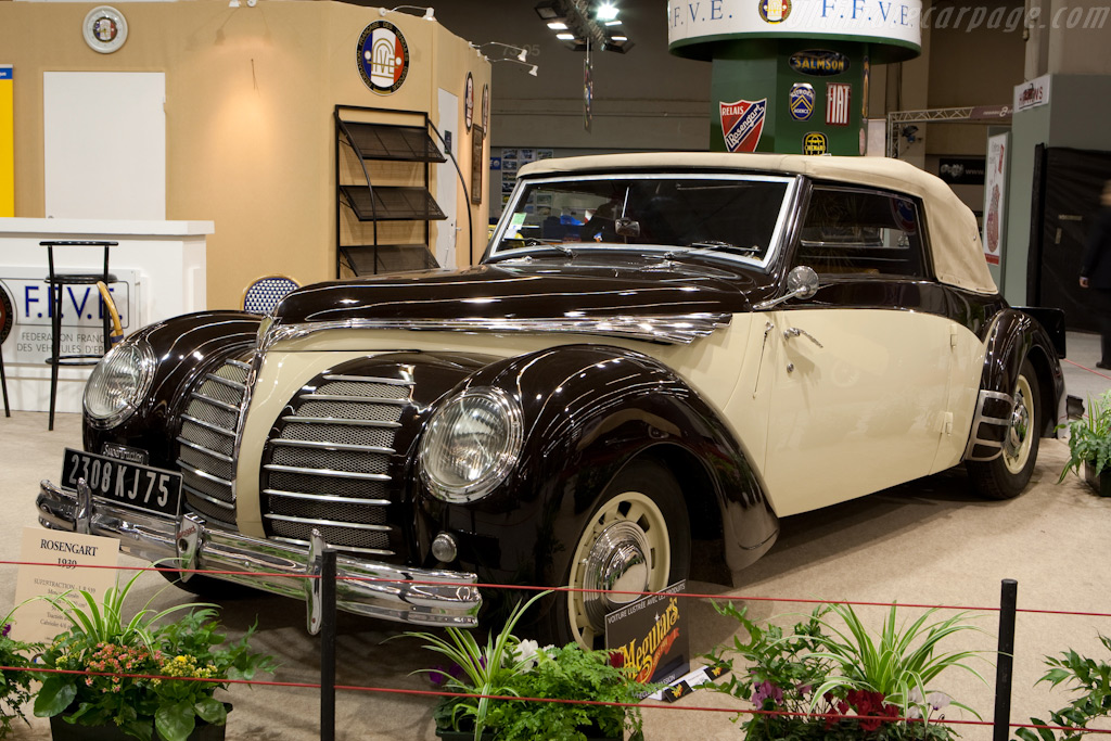 Rosengart LR539    - 2010 Retromobile