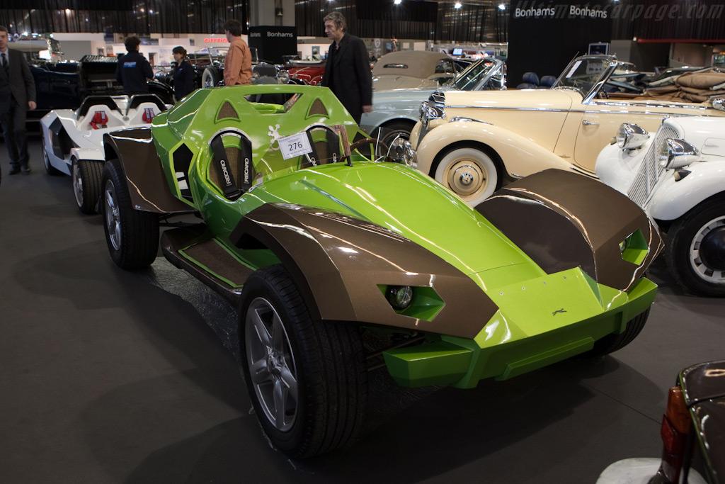 Sbarro Gecko Concept    - 2010 Retromobile