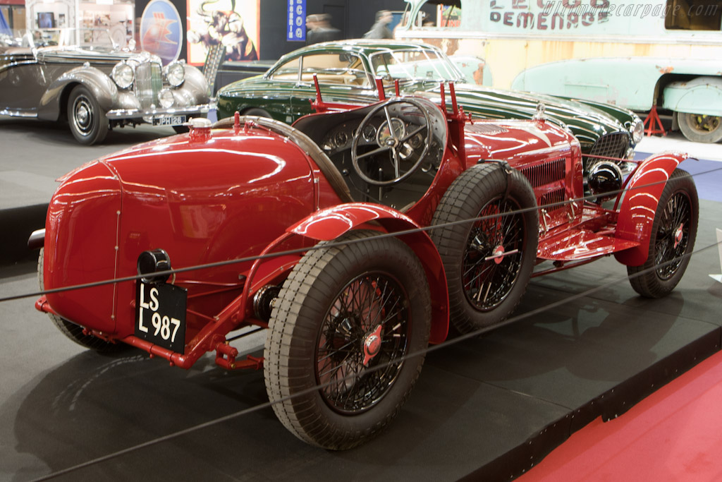 alfa romeo 8c 2300 monza 2011 retromobile. Black Bedroom Furniture Sets. Home Design Ideas